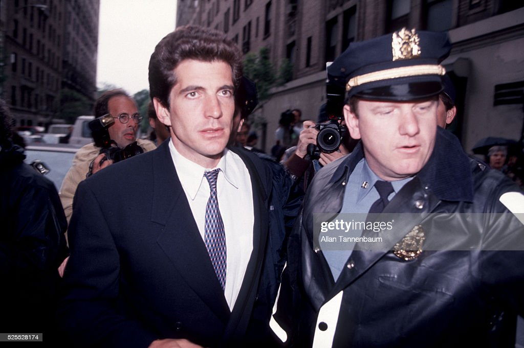 John F Kennedy Jr At The Apartment House After The Death