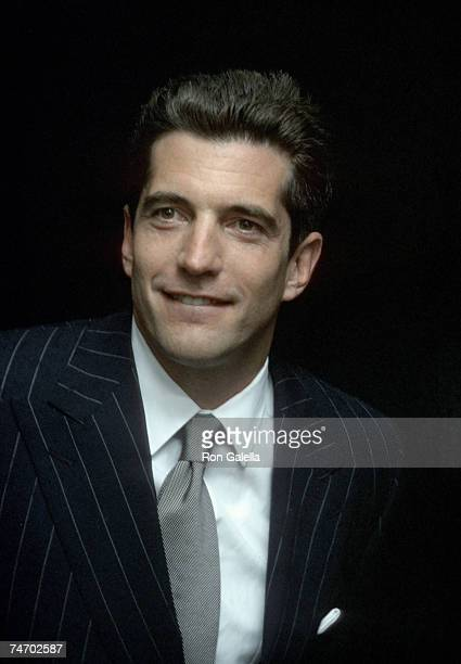 John F Kennedy Jr at the US Customs House in New York City New York