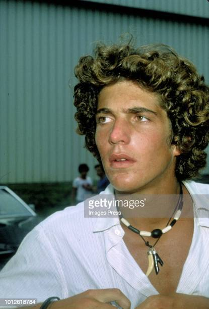 John F Kennedy Jr circa 1976 in New York.