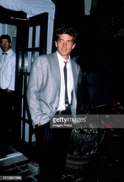 John F Kennedy Jr circa 1989 in New York.