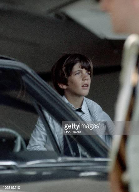 John F. Kennedy Jr. During John F. Kennedy Jr. Sighting in New York City - January 1, 1969 in New York City, New York, United States.