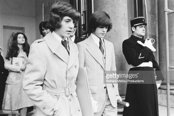 John F Kennedy Jr in Paris 22nd March 1975