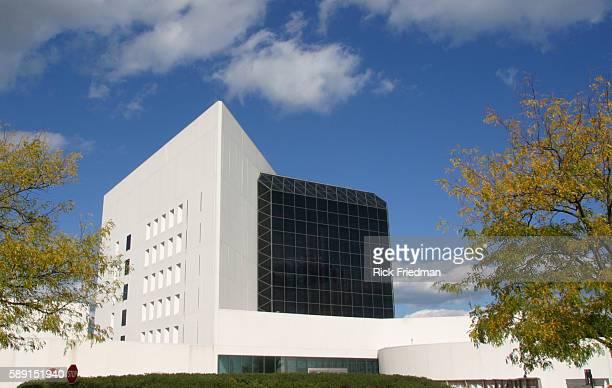 John F Kennedy Library in Boston Massachusetts