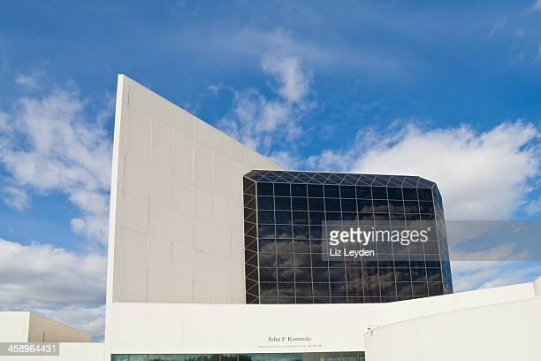 john f. kennedy presential library and museum - john f. kennedy library stock photos and pictures