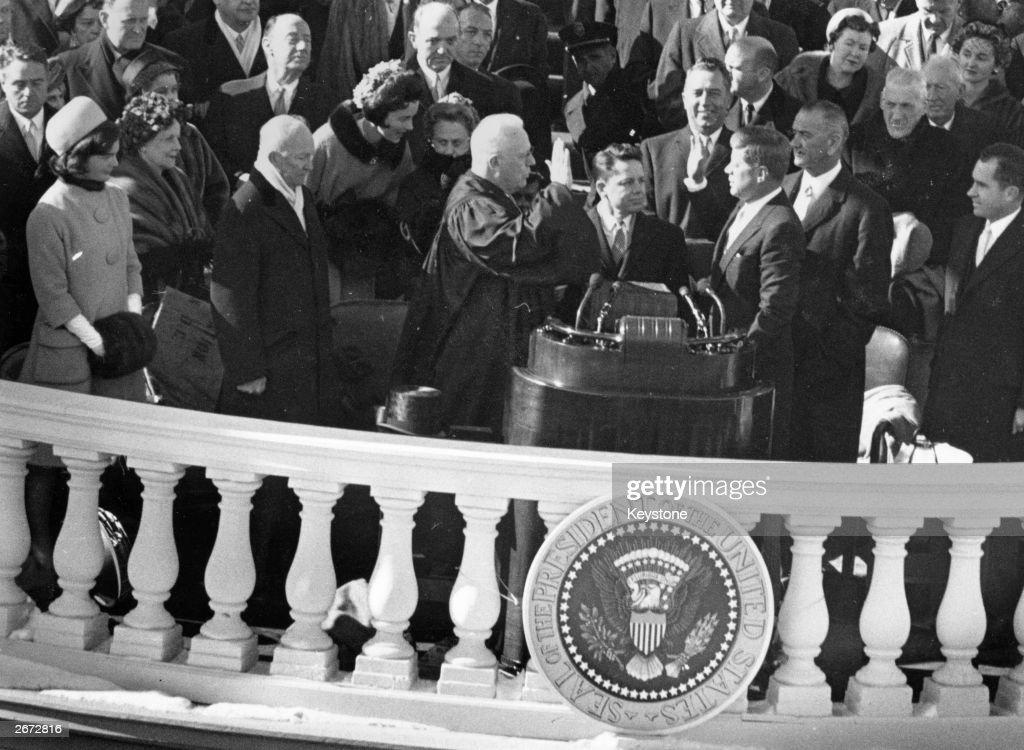 Kennedy Sworn In : News Photo