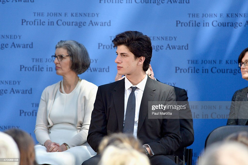 bob inglis receives jfk profile in courage award photos and images  john f kennedy s grandson jack schlossberg wears one of his grandfather s neckties at the 2015