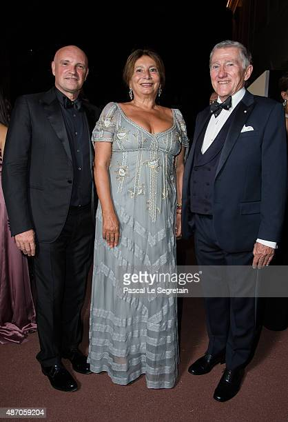 John F Lehman and JeanChristophe Maillot attend the 2015 Princess Grace Awards Gala With Presenting Sponsor Christian Dior Couture at Monaco Palace...