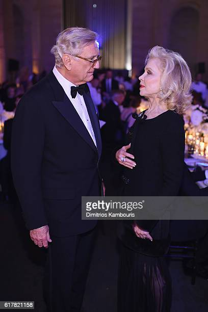 John F Lehman and Lily Safra attend the 2016 Princess Grace Awards Gala with presenting sponsor Christian Dior Couture at Cipriani 25 Broadway on...