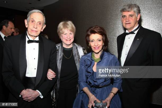 John F Nash Jr MaryClaire King Evelyn Lauder and Bruce Stillman attend COLD SPRING HARBOR LABORATORY Double Helix Medal Dinner at Mandarin Oriental...