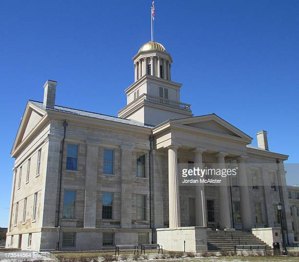 John F. Rague designed this lovely Greek Revival capitol built in 1842. It acted as the last territorial capitol of the Iowa Territory and the first...