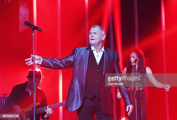 John Farnham performs during the 30th Annual ARIA Awards 2016 at The Star on November 23 2016 in Sydney Australia