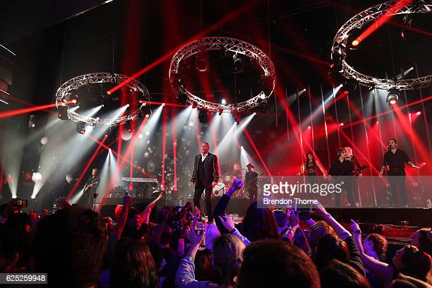 John Farnham performs on stage during the 30th Annual ARIA Awards 2016 at The Star on November 23 2016 in Sydney Australia