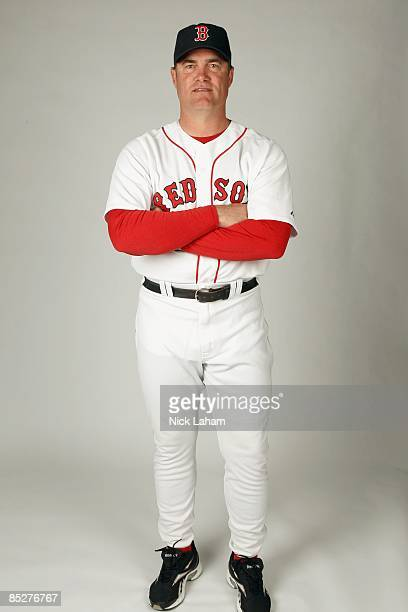 John Farrell of the Boston Red Sox poses during photo day at the Red Sox spring training complex on February 22 2009 in Fort Myers Florida