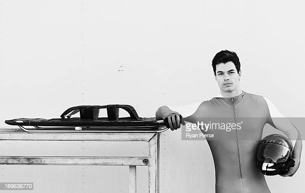 John Farrow of Australia poses during a portrait session on May 29 2013 in Sydney Australia Farrow is aiming to qualify for the Australian Winter...