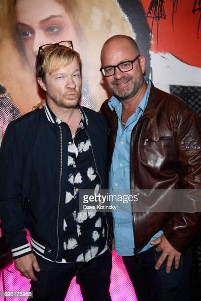 John Fawcett and Graeme Mansonat arrive at BBC AMERICA's 'Orphan Black' Premiere Party at Vandal on June 6 2017 in New York City