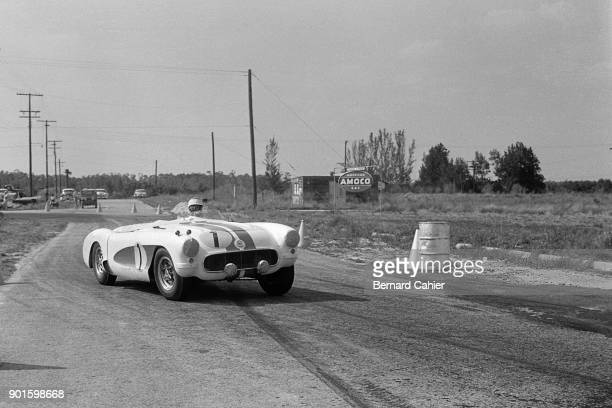 John Fitch Chevrolet Corvette Special 12 Hours of Sebring Sebring 24 March 1956