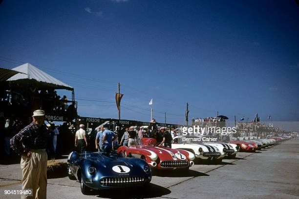 John Fitch Piero Taruffi Chevrolet Corvette SS 12 Hours of Sebring Sebring 23 March 1957