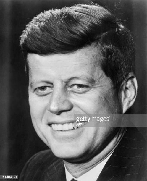John Fitzgerald Kennedy pictured in the 1960s in Washington DC 09 November 1960 he was the first Catholic and the youngest person to be elected for...
