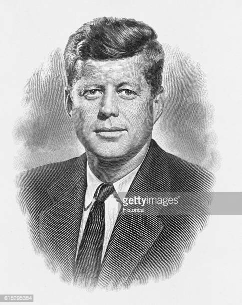 John Fitzgerald Kennedy president of the United States from 1960 until his assassination in 1963 At age 43 he was the youngest man ever elected...