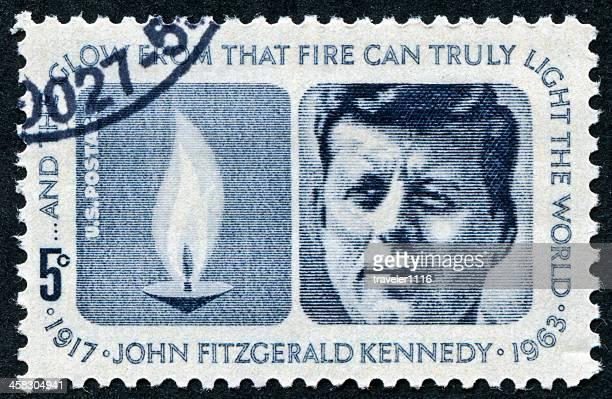 Timbre John Fitzgerald Kennedy