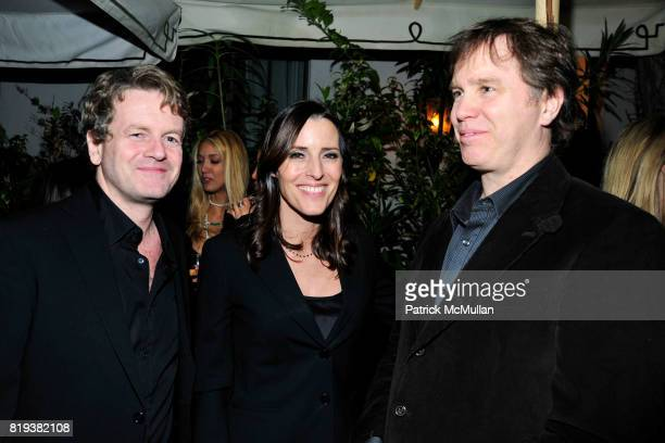 John Flannagan Cecilia Peck Daniel Voll attend NICOLAS BERGGRUEN's 2010 Annual Party at the Chateau Marmont on March 3 2010 in West Hollywood...