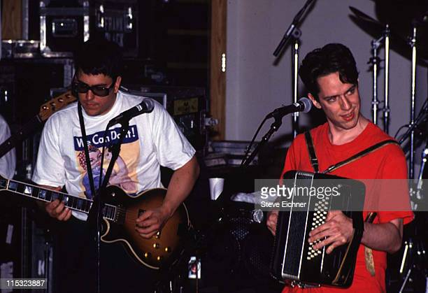 John Flansburgh and John Linnell of They Might Be Giants