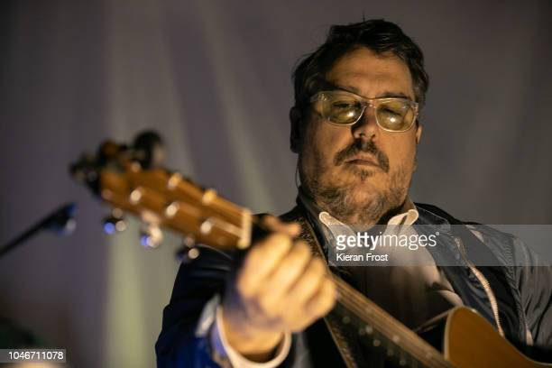 John Flansburgh of They Might Be Giants performs at The Button Factory on October 6 2018 in Dublin Ireland