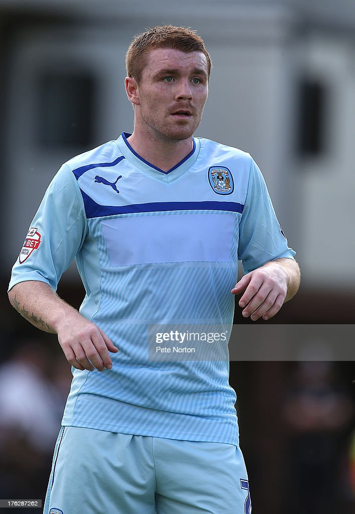John Fleck of Coventry City in action during the Sky Bet League One match between Coventry City and Bristol City at Sixfields Stadium on August 11, 2013 in Northampton, England.