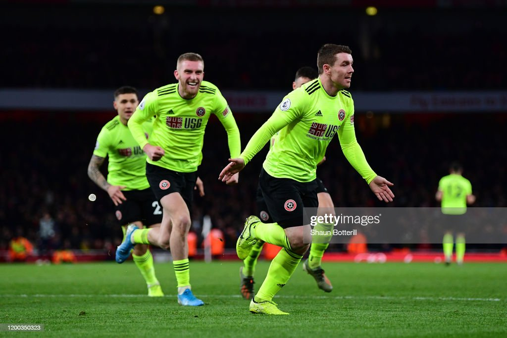 Arsenal FC v Sheffield United - Premier League : News Photo