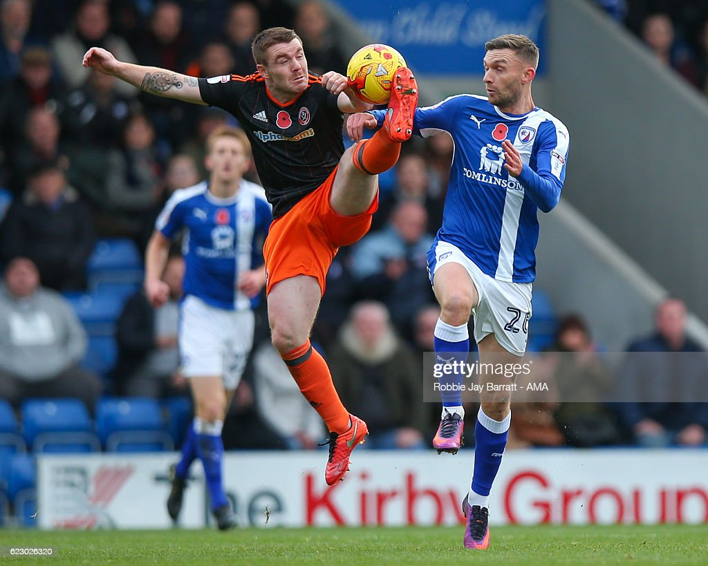 Chesterfield v Sheffield United - Sky Bet League One