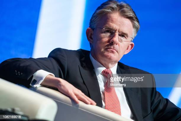 John Flint chief executive officer of HSBC Holdings Plc attends the Hong Kong Asian Financial Forum in Hong Kong China on Monday Jan 14 2019 The AFF...