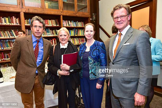 John Flower Anne Kriken Mann Ellen Gallagher and Russell Windham attend Ben Pentreath Lecture at the Institute of Classical Architecture Art at...