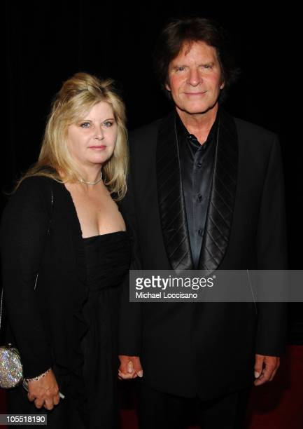 John Fogerty and Wife Julie Fogerty during The 36th Annual Songwriters Hall of Fame Awards Induction at Marriott Marquis Hotel in New York City New...
