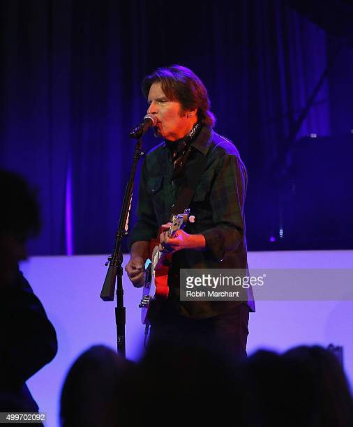 John Fogerty attends the Prostate Cancer Foundation Invites You To The 2015 New York Dinner With Celebrity Hosts Whoopi Goldberg John O'Hurley At The...