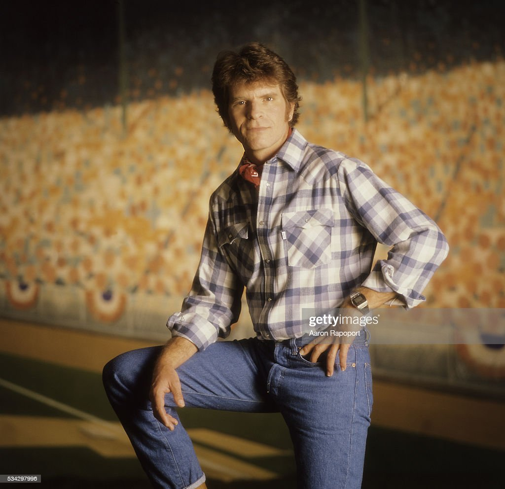 John Fogerty in publicity shot for his song 'Centerfield.'
