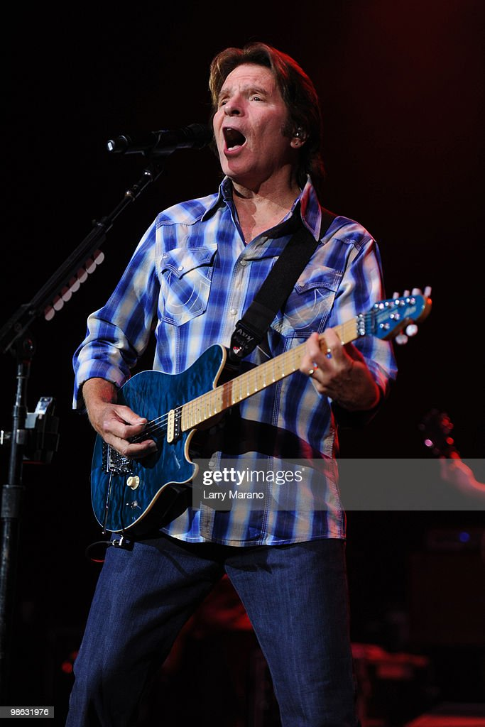 John Fogerty performs at Hard Rock Live! in the Seminole Hard Rock Hotel & Casino on April 22, 2010 in Hollywood, Florida.