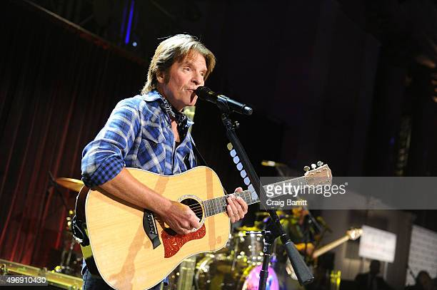 John Fogerty performs on stage during the 'Samuel Waxman Cancer Research Foundation Presents Collaborating For A Cure 18th Annual Benefit Dinner...