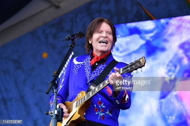 John Fogerty performs onstage at the 2019 New Orleans Jazz Heritage Festival at Fair Grounds Race Course on May 05 2019 in New Orleans Louisiana