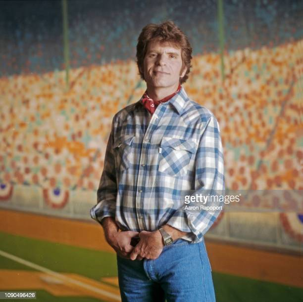 John Fogerty poses for a portrait in 1985 in Los Angeles California