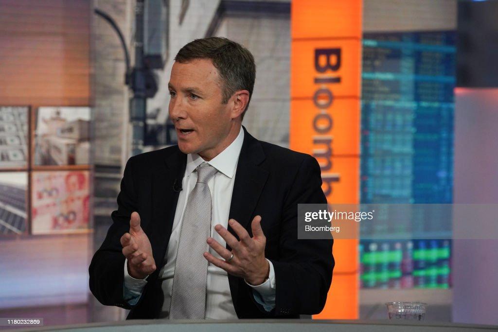 Peloton Interactive Inc. Chairman & CEO John Foley Interview : Fotografia de notícias