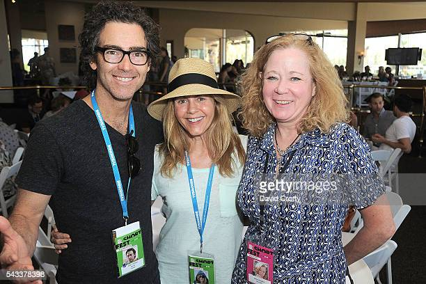 John Fortson Christie Lynn Smith and Jenny Heyden attend the 2016 Palm Springs International ShortFest Sunday Screenings Events on June 26 2016 in...