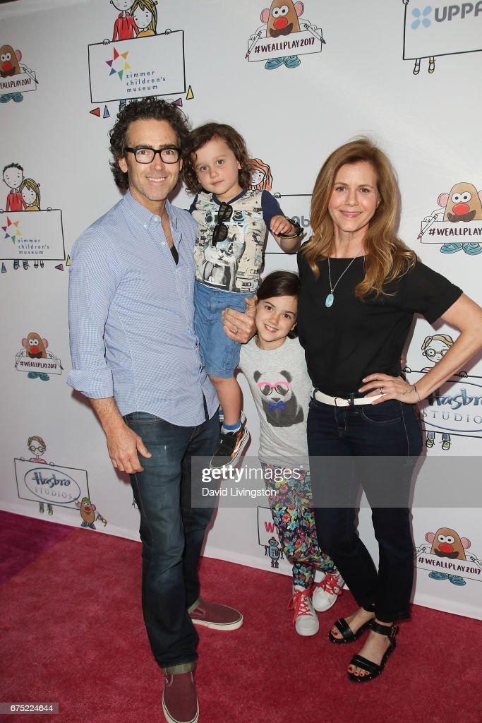 John Fortson, Joshua Fortson, Abby Fortson, and Christie Lynn Smith attend the WE ALL PLAY FUNdraiser hosted by the Zimmer Children's Museum at the Zimmer Children's Museum on April 30, 2017 in Los Angeles, California.