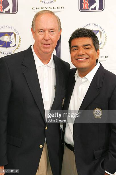 John Foster President of the Board of Directors for the Bob Hope Chrysler Classic and George Lopez