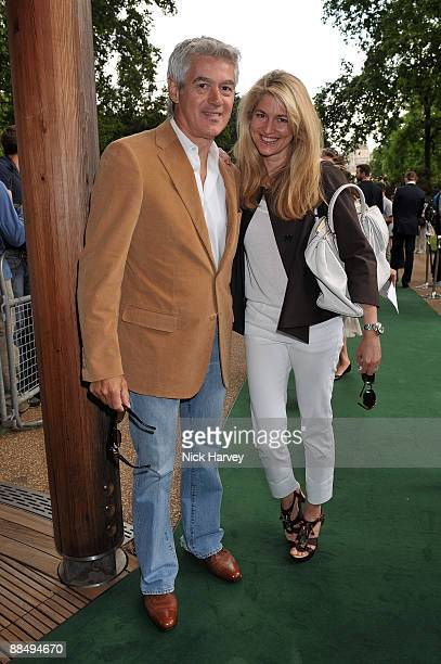 John Frieda and Avery Agnelli arrive as The McCartney Family Launches �Meat Free Monday' at Inn The Park on June 15 2009 in London England