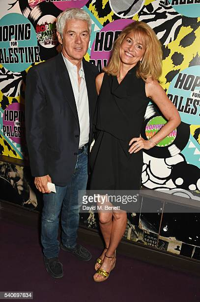 John Frieda and Avery Agnelli attend 'Hoping's Greatest Hits' the 10th anniversary of The Hoping Foundation's fundraising event for Palestinian...