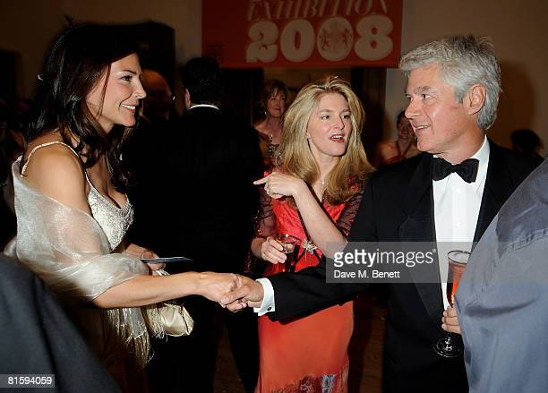 John Frieda and Avery Agnelli attend the Royal Academy Summer Ball at the Royal Academy of the Arts on June 16 2008 in London England
