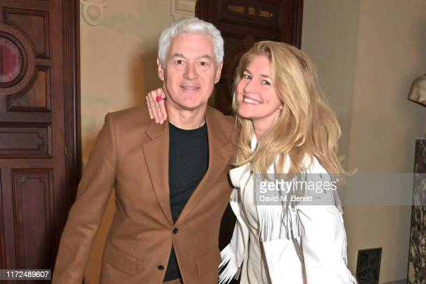 John Frieda and Avery Agnelli attend the Stella McCartney Womenswear Spring/Summer 2020 show as part of Paris Fashion Week on September 30 2019 in...