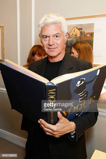 John Frieda attends Vogue Voice of a Century book launch at Matches Fashion on September 20 2016 in London England