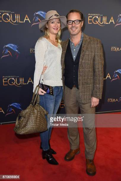 John Friedmann and his girlfriend Tini Fuchs during the world premiere of the horse show 'EQUILA' at Apassionata Showpalast Muenchen on November 5...