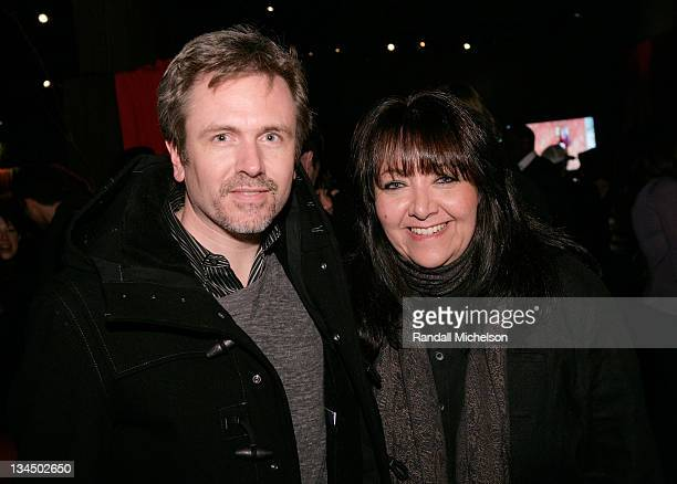 John Frizzell and Doreen Ringer Ross BMI attends the BMI Big Crowded Room Party at the Leaf Lounge during the 2008 Sundance Film Festival on January...